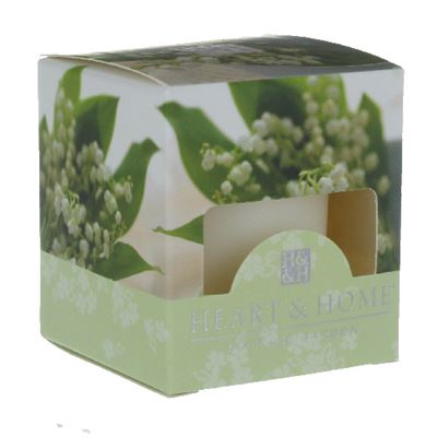 Lily of the Valley Heart & Home Votive Candle