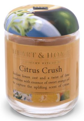 Citrus Crush Candle in Jar 30 hours
