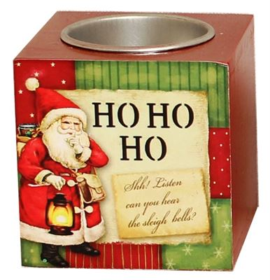 Ho Ho Ho Tea Light Block
