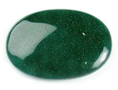 Green Goldstone Palmstone