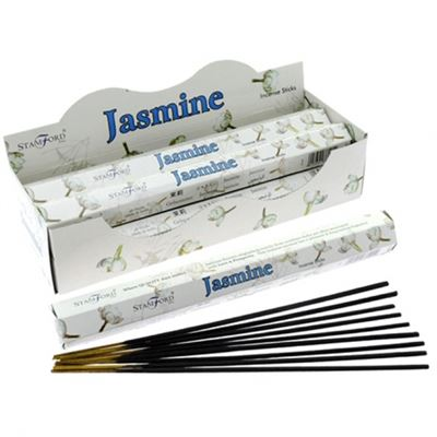 Jasmine Incense Sticks Hexagonal Pack Stamford 20g
