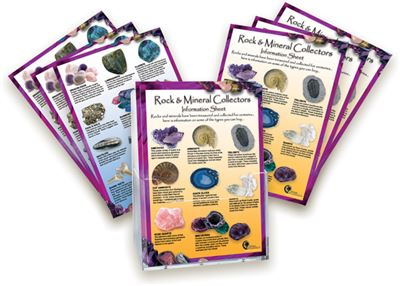 Rock & Mineral Laminated Information Card