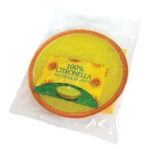 Citronella Extra Large Round Flat Candle by Price's
