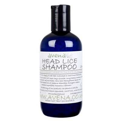Head Lice Shampoo 250ml - SLS & paraben free remedies