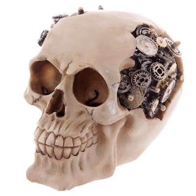 Skull with Cogs & Gears