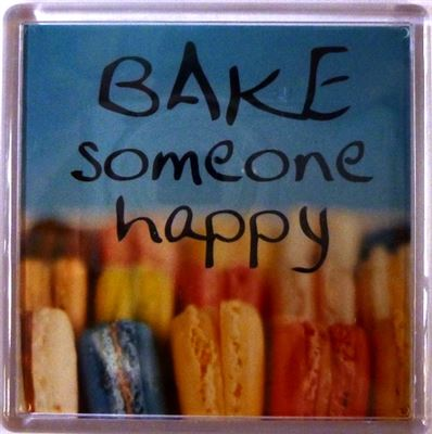 BAKE someone happy Fridge Magnet 179
