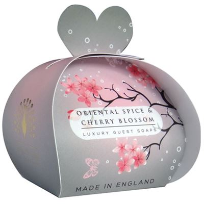 Oriental Spice & Cherry Blossom Luxury Guest Soap 60g