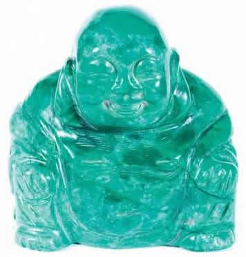 Malachite Howlite Buddha 50mm