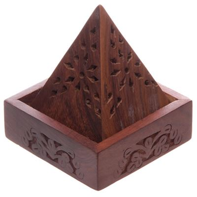 Pyramid Incense Cone Burner