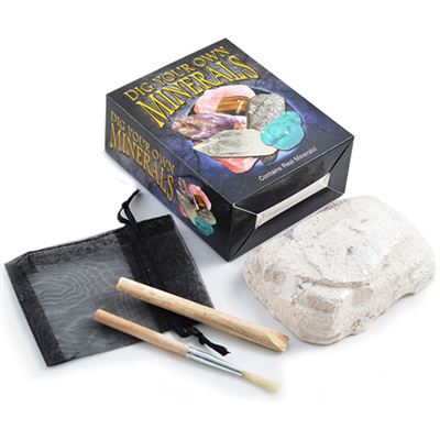 Dig Your Own Minerals Gift Box