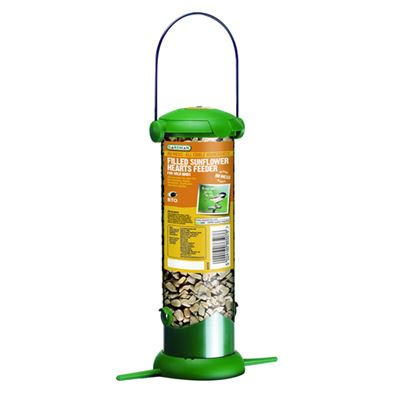Filled Flip Top Sunflower Feeder Hanging for Wild Birds