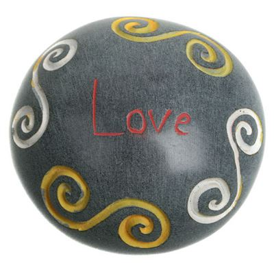 Love Soapstone Pebble