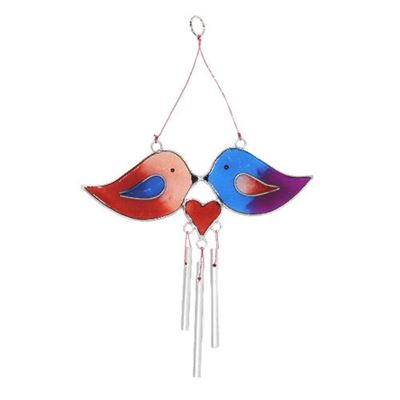 Love Birds Suncatcher Wind Chime