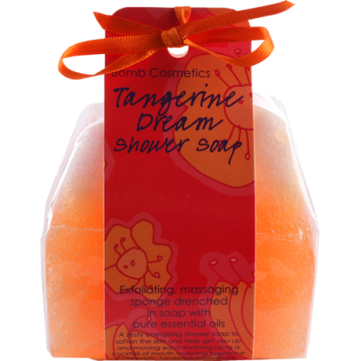 Tangerine Dream Massage Soap Sponge