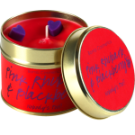 Pink Rhubarb & Blackberry Candle in a Tin