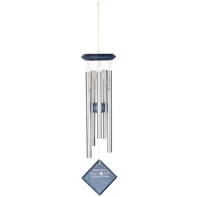 Mercury Chime Silver with Blue Wash Finish