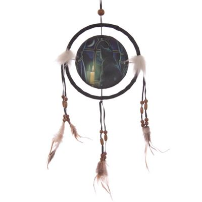 Midnight Vigil Dream Catcher Small