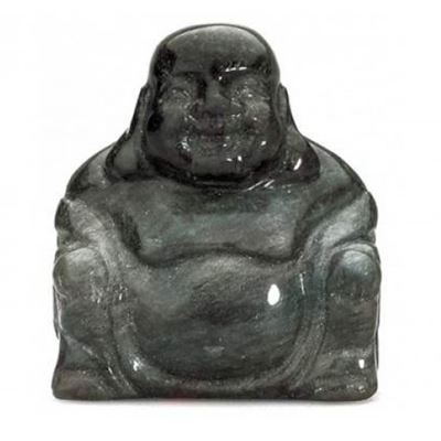 Obsidian Sheen Buddha 50mm