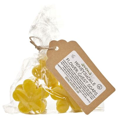 Honeysuckle Flower Soaps Gift Bag of 5