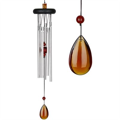 Amber Precious Stone Wind Chime from Woodstock