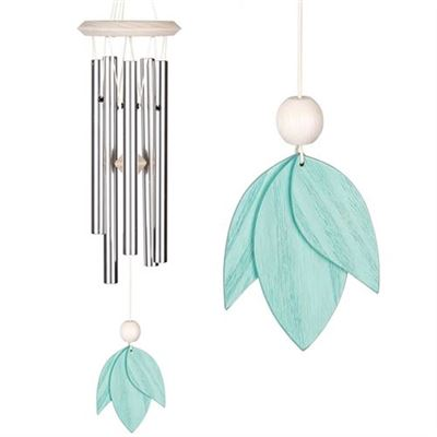 Carolina Petals Gracious Green Wind Chime from Woodstock
