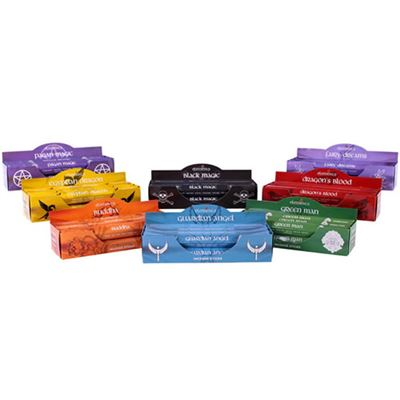 Bulk Buy Incense Set 48 Assorted Packs