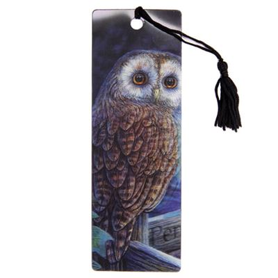 Owl 3D Bookmark by Lisa Parker