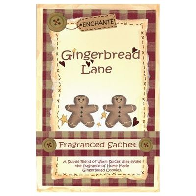 Gingerbread Lane Fragranced Sachet