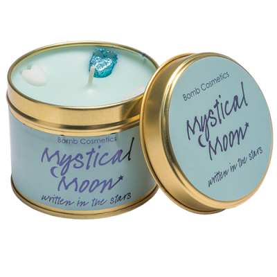 Mystical Moon Candle in a Tin