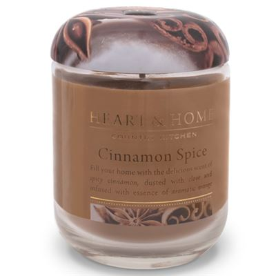 Cinnamon Spice Candle in Jar Extra Large 80 hours