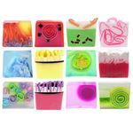 Colourful Sliced Soap Gift Set Of TWELVE