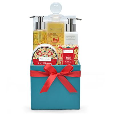 Red Ginseng Deluxe Tissue Box Gift Set