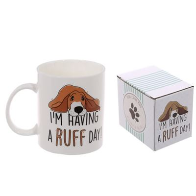 Dog Bone China Mug I'm Having A Ruff Day