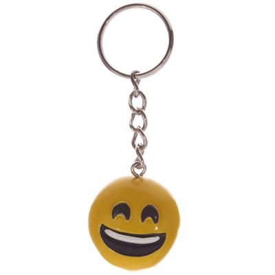 Emoji Key Ring Smiling
