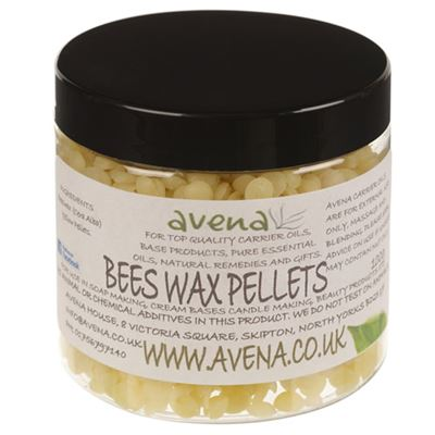 Beeswax (Cera alba) Yellow Pellets 100g