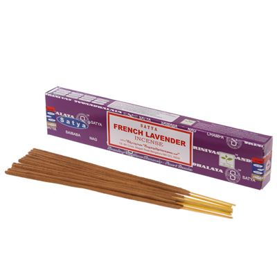 French Lavender Satya Incense Sticks 15g Box