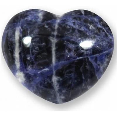 Sodalite Heart Large