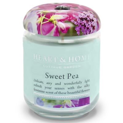 Sweet Pea Candle in Jar 80 Hours