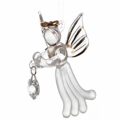 Clear Crystal Loving Angel with Swarovski® Crystal in Gift Box