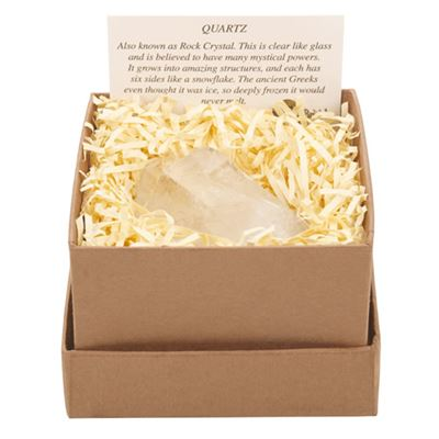 Quartz Point Clear in Gift Box