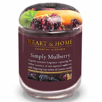 Mulberry Candle in Jar Extra Large 80 hours