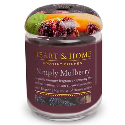 Mulberry Candle in Jar 30 hours