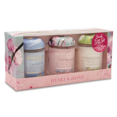 Candle Gift Set 3 Jars