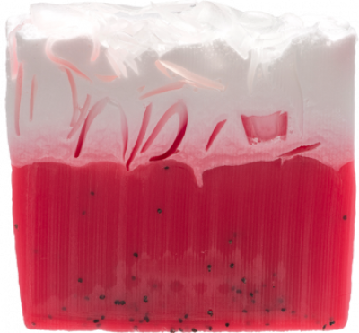 Strawberries & Cream Soap Slice 100g