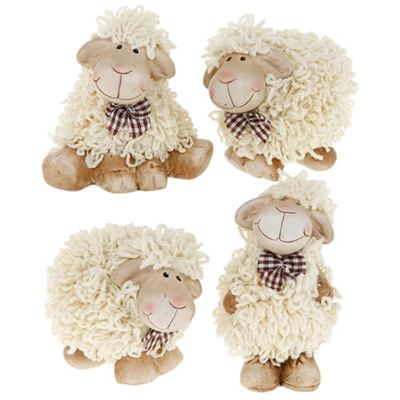 Shaggy Sheep Medium Four Pack