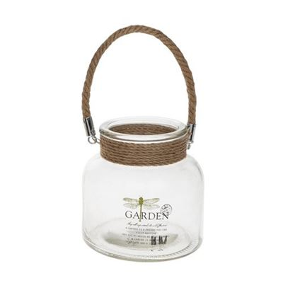 Garden Jar & Candle Holder Dragonfly