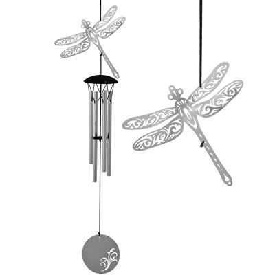 Dragonfly Flourish Woodstock Wind Chime