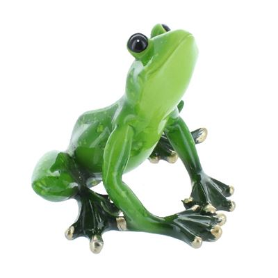 Glass Tree Frog Looking Up