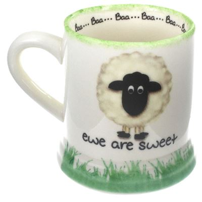 Ewe Are Sweet Large Sheep Mug