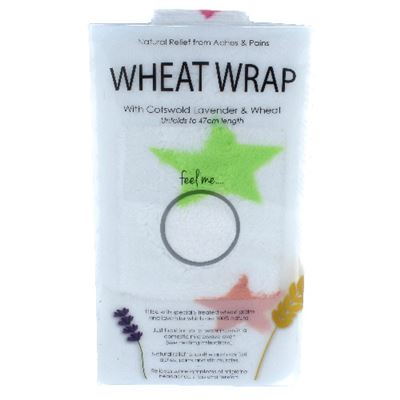 White Star Wheat Wrap in Acetate Gift Box